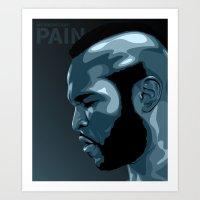 PAIN! Art Print