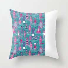 Seafarers Throw Pillow