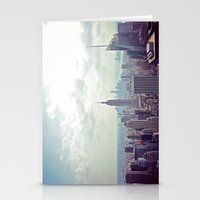 nyc Stationery Cards featuring NYC by Shilpa