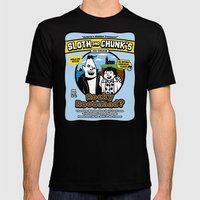 Sloth And Chunk's Ice Cr… Mens Fitted Tee Black SMALL