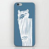 Deep Seasaw Diver iPhone & iPod Skin