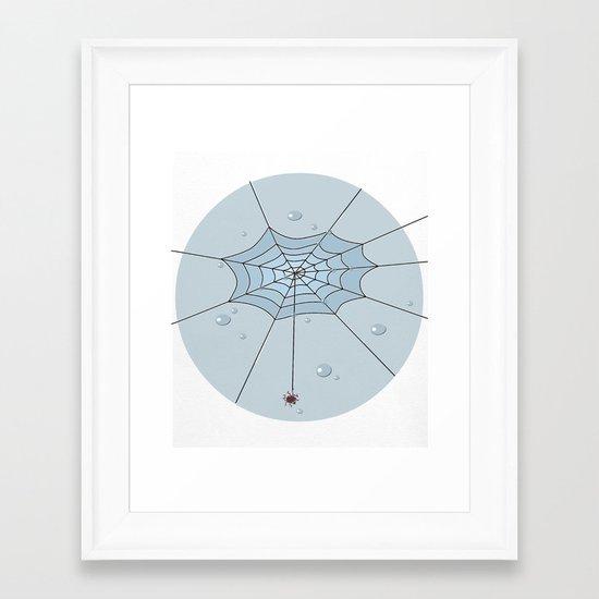 The web Framed Art Print