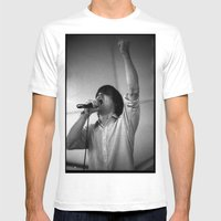 John Maus (35mm, FYF Fes… Mens Fitted Tee White SMALL