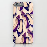 iPhone & iPod Case featuring A nice pair of shoes by Eltina Giannopoulou