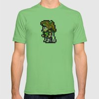 Final Fantasy II - Rosa Mens Fitted Tee Grass SMALL