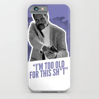 iPhone & iPod Case featuring Badass 80's Action Movie Quotes - Lethal Weapon by Casa del Kables