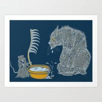 The Rat Reaper Art Print