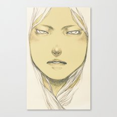 (self-loathing) Canvas Print