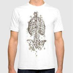 Life & Death SMALL Mens Fitted Tee White