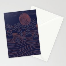Mountain Moon Stationery Cards