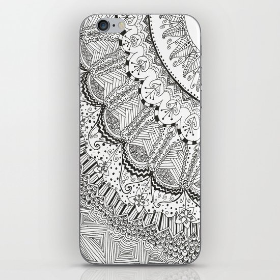 Doodle Madness iPhone & iPod Skin
