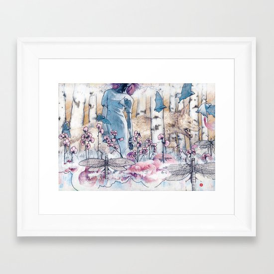 The Tea Migration Framed Art Print