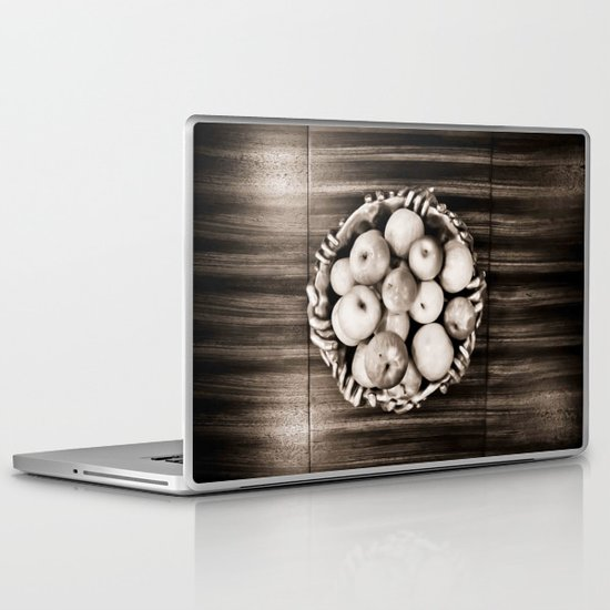 Bowl of apples Laptop & iPad Skin