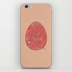 Red Mechanical Egg iPhone & iPod Skin