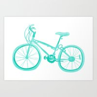 No Mountain Bike Love? Art Print