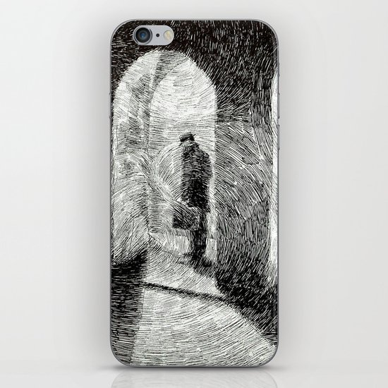 Fingerprint - Arcades iPhone & iPod Skin