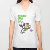 Super Toy Bros. Unisex V-Neck