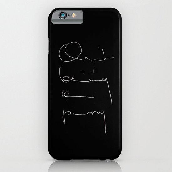Quit being a pussy iPhone & iPod Case