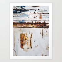 Rust Study Art Print