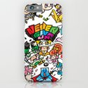 NEVER GIVE UP JAPAN iPhone & iPod Case