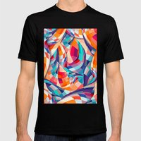 Versicolor Mens Fitted Tee Black SMALL