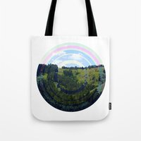 Busy Landing Tote Bag