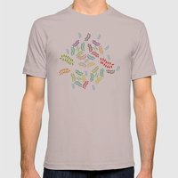 ORGANIC & NATURE (COLORS… Mens Fitted Tee Cinder SMALL
