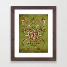 Under Lock and Key Framed Art Print