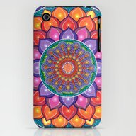 iPhone & iPod Case featuring Lotus Rainbow Mandala by Elspeth McLean