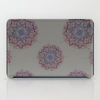 Grey Ombre Mandala iPad Case