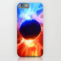 iPhone & iPod Case featuring Hot & Cold by JT Digital Art