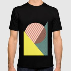 Minimal Complexity v.2 SMALL Black Mens Fitted Tee