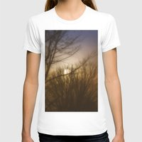 Here Comes The Sun Womens Fitted Tee White SMALL