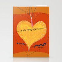 Heart on the Mend Stationery Cards