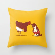 Show Me Yours And I'll S… Throw Pillow
