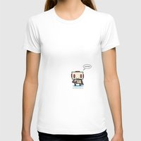 Coffee? Womens Fitted Tee White SMALL