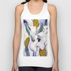 Magnificent Magnolias Unisex Tank Top