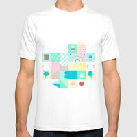 For Japan With Love 3 Mens Fitted Tee White SMALL