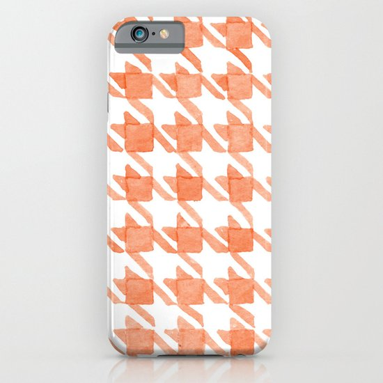Watercolor Houndstooth iPhone & iPod Case