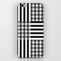 Monochrome Pattern  iPhone & iPod Skin