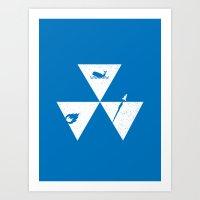 3 Elements Art Print