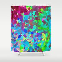 Colourful Abstract. Shower Curtain