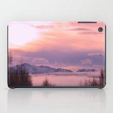 Rose Serenity Winter Fog iPad Case