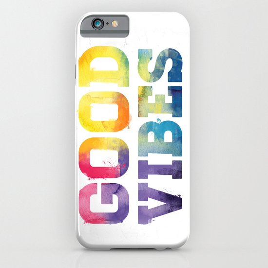 Good Vibes iPhone & iPod Case