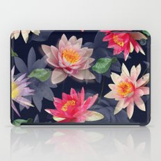 Lotus Flower Pattern #2 iPad Case