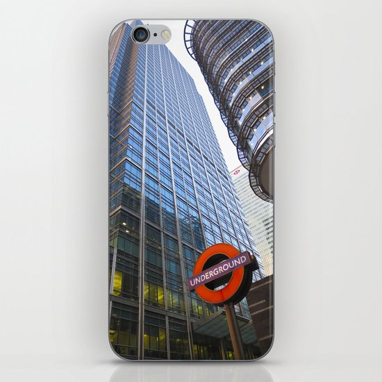 Canary Wharf  iPhone & iPod Skin