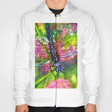 Title: painting - Dragonfly Hoody