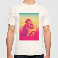 Droid Mens Fitted Tee Natural SMALL
