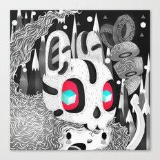Forestyne (Black & white) Canvas Print