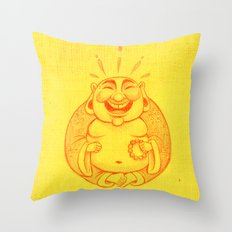 Laughter Brightens the Soul Throw Pillow